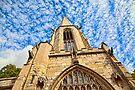 St Mary's Church, Castlegate York by Ray Clarke