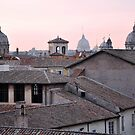 Sunset over the Roman Forum in Rome, Italy by revealedrome