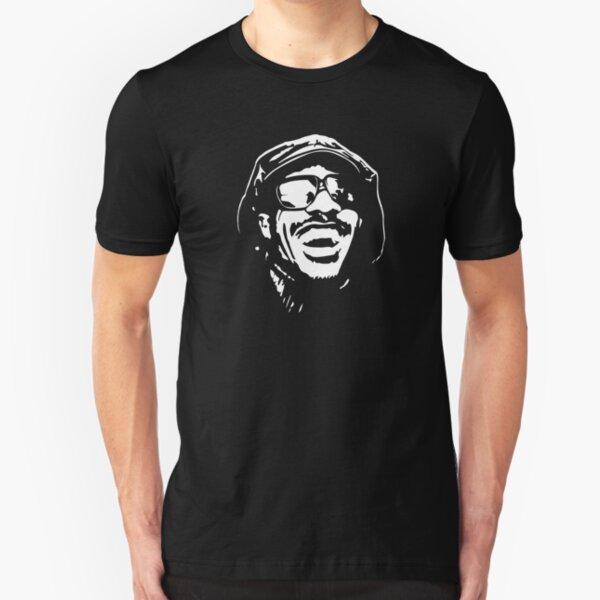 Stevie Wonder portrait Slim Fit T-Shirt
