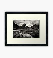 Mitre Peak - Milford Sound, NZ Framed Print