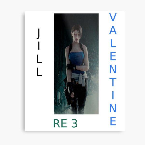 Jill Valentine RE 3 Metal Print