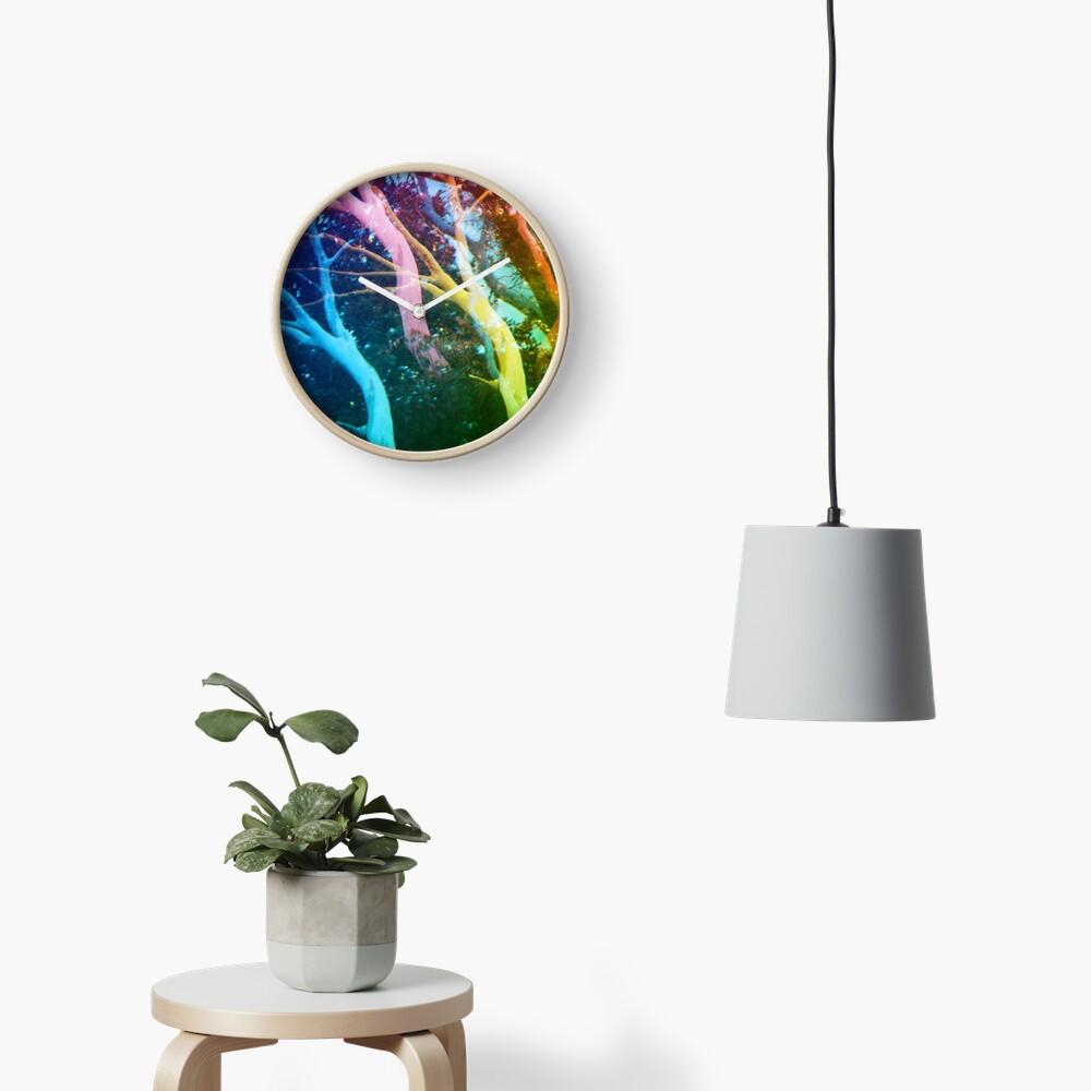 Eucalyptus Tree Clock