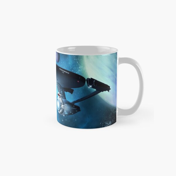 Enterprise A - Where Silence Has Lease Classic Mug