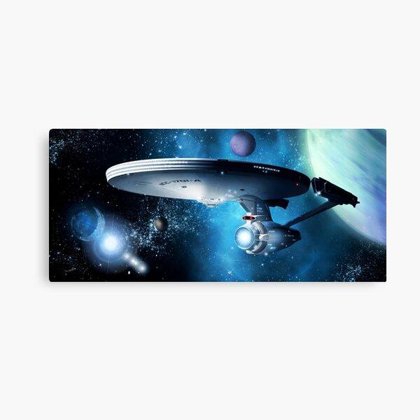 Enterprise A - Where Silence Has Lease Canvas Print