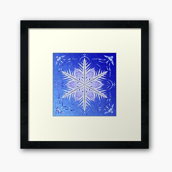 Bladed Sky Framed Art Print