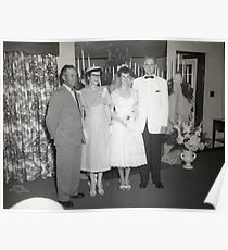 Elkins & Draffen Wedding / No.6 Poster
