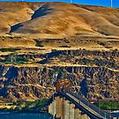 US Highway 97 Crossing the Columbia by Bryan D. Spellman