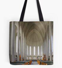 Inside Hallgrimskirkja Tote Bag