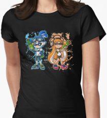 Splatoon Womens Fitted T-Shirt
