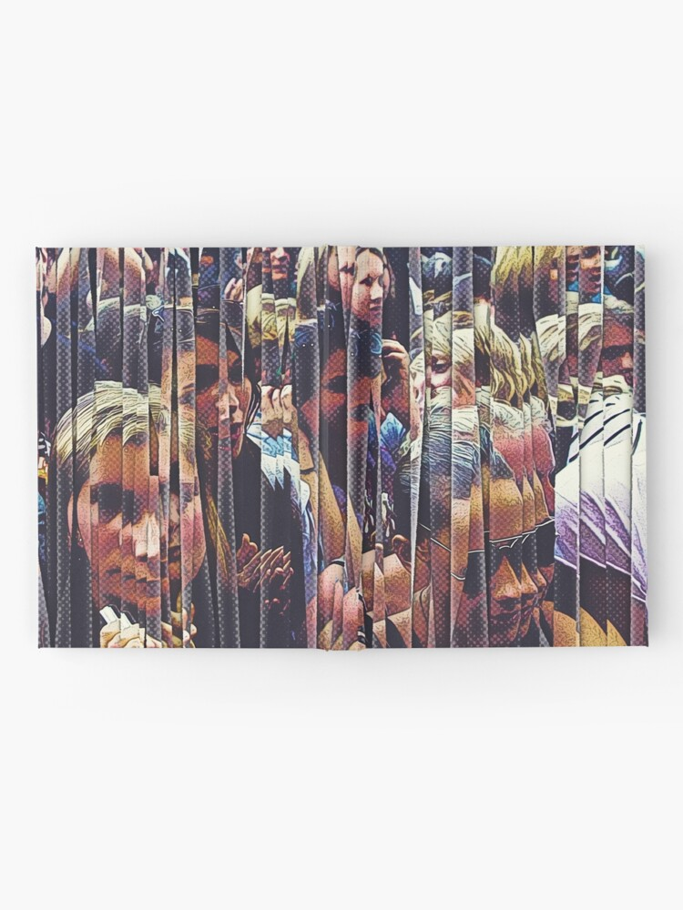 Alternate view of Concert Crowd Fans Hardcover Journal
