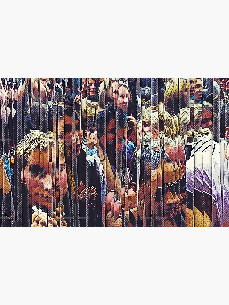 Concert Crowd Fans by perkinsdesigns