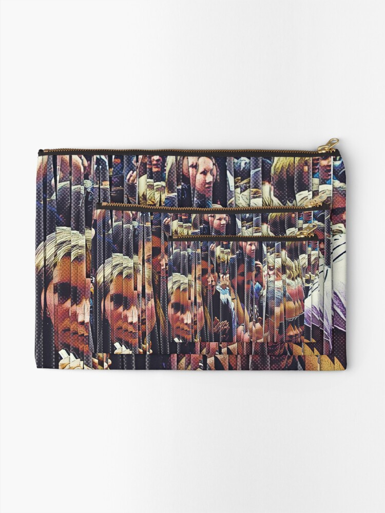 Alternate view of Concert Crowd Fans Zipper Pouch