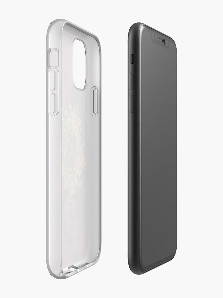 Alternative Ansicht von Bush Rosen Neon iPhone-Hülle & Cover