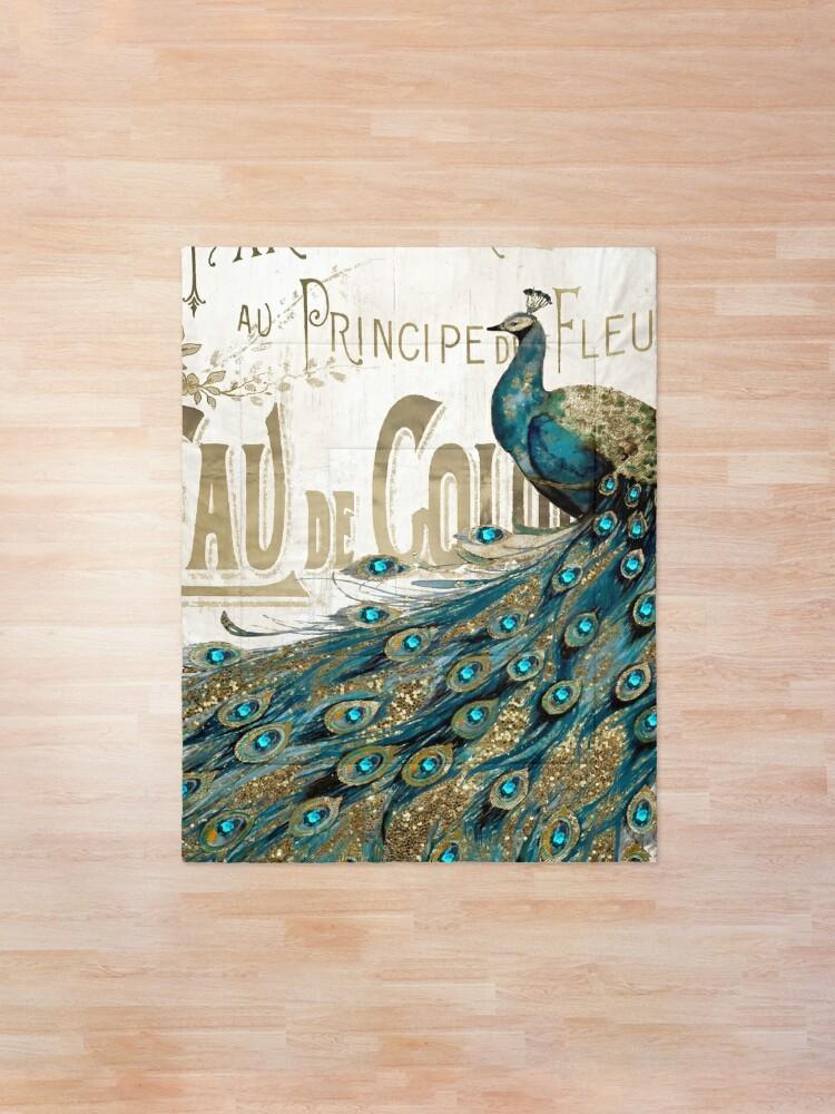 Alternate view of Peacock Jewels Comforter