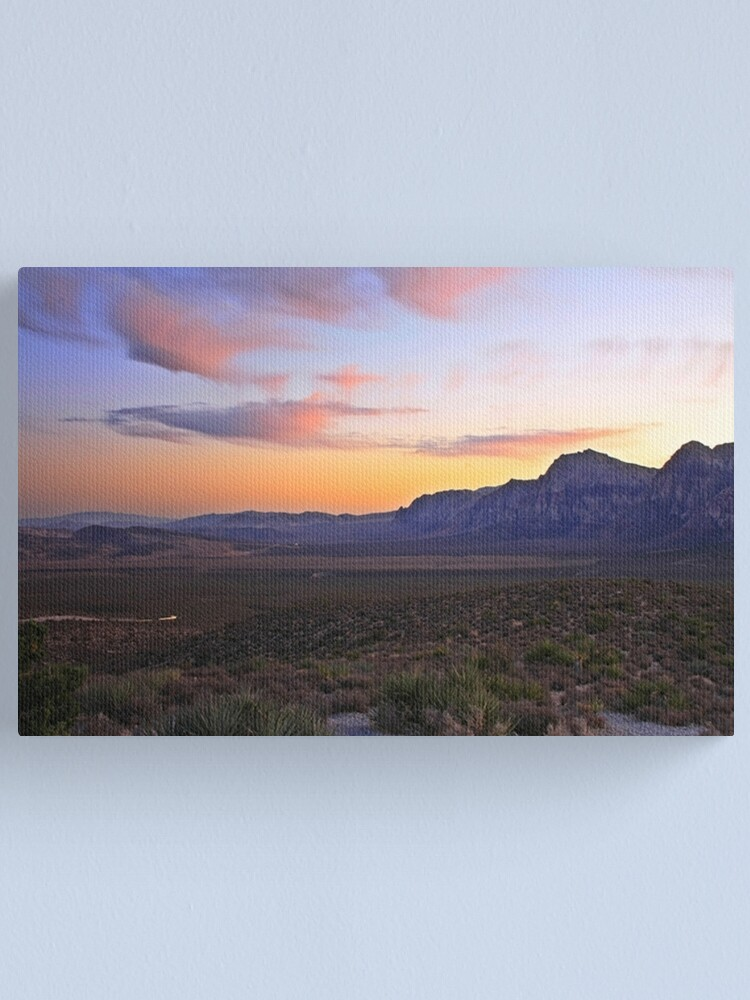 Alternate view of Red Rock Canyon Canvas Print