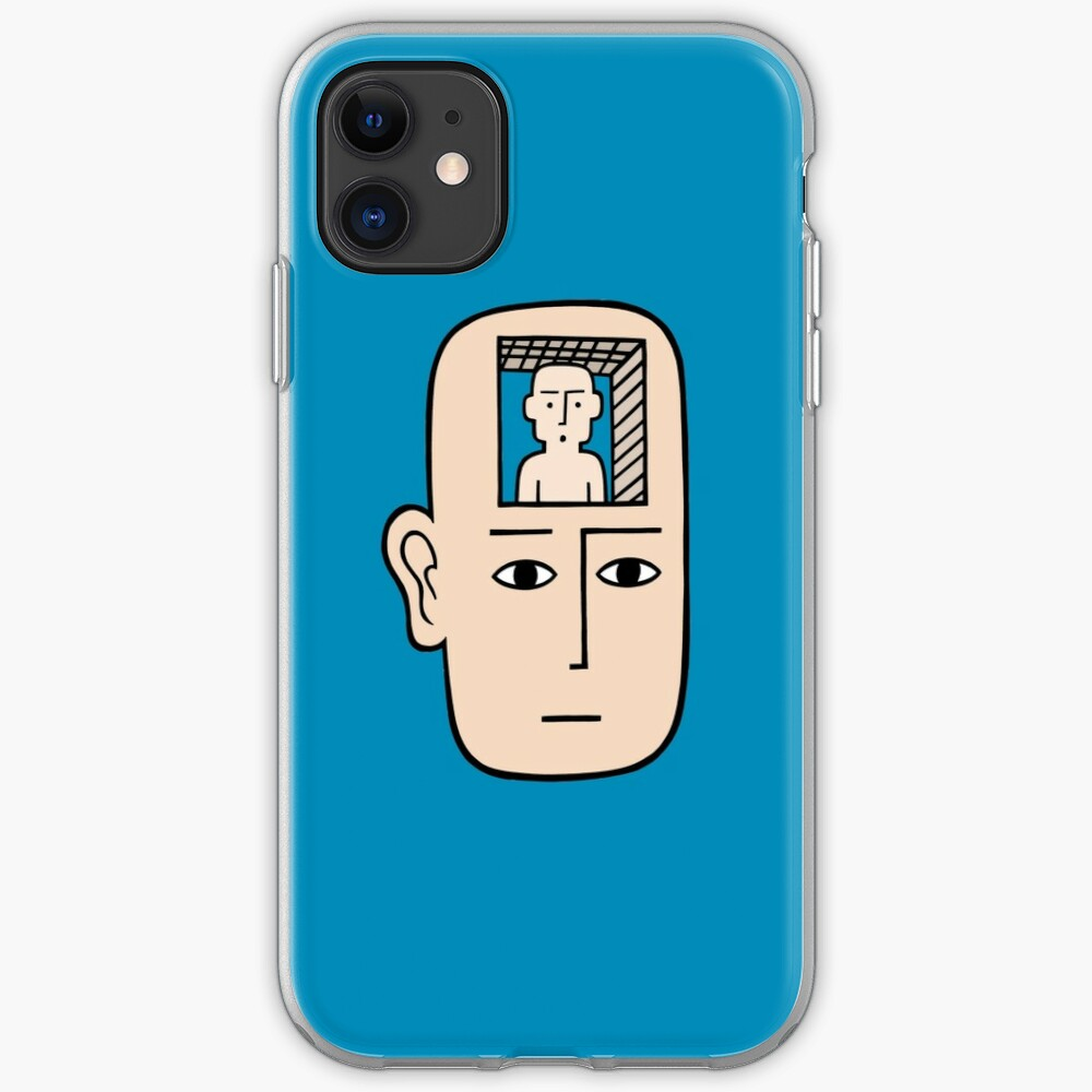 In my mind there may be me iPhone Soft Case