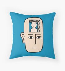In my mind there may be me Throw Pillow