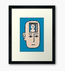 In my mind there may be me Framed Print