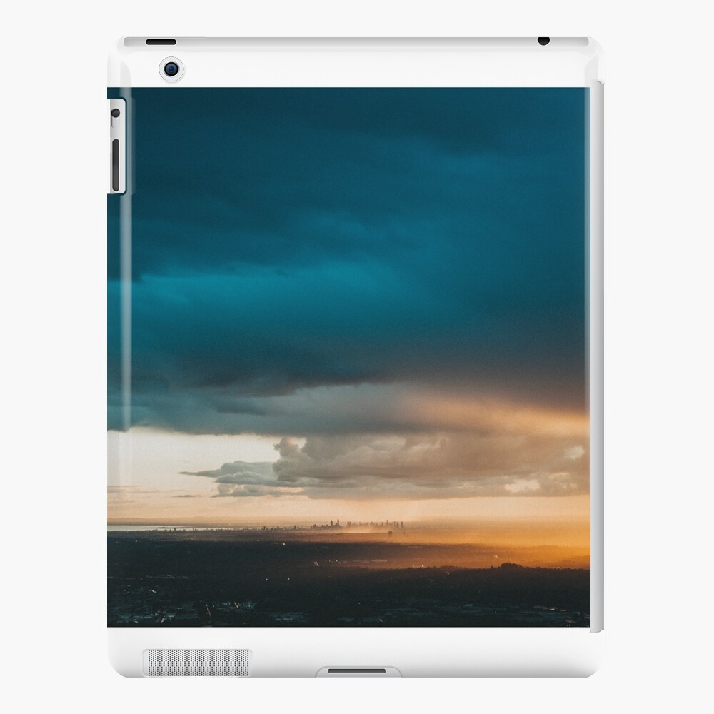 'Melbourne City Sunset, Australia.' iPad Case & Skin