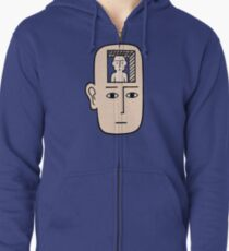In my mind there may be me Zipped Hoodie