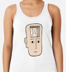 In my mind there may be me Racerback Tank Top