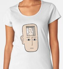 In my mind there may be me Premium Scoop T-Shirt