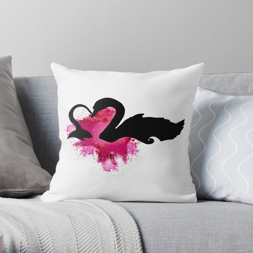 Captain Swan - Once Upon A Time Throw Pillow