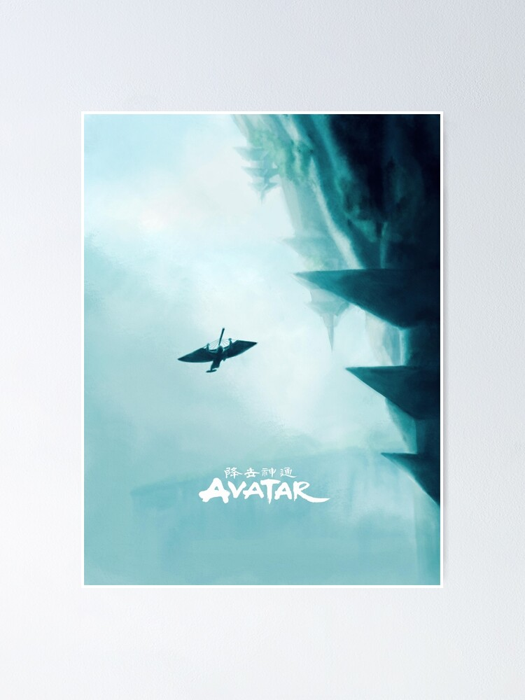 Alternate view of avatar the last airbender air Poster