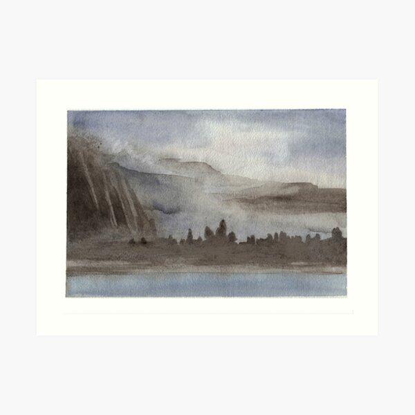 Ahwahnee Meadow Yosemite Art Print