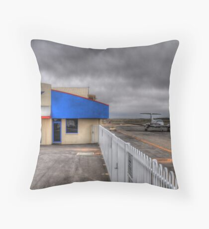 The Flying Doctor Throw Pillow