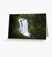 Hopetoun Falls from above Greeting Card