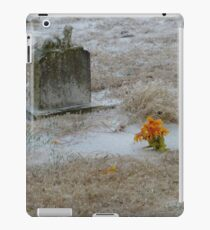 Cold Cemetery iPad Case/Skin