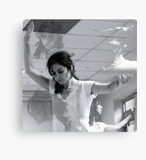 Dancing with myself Canvas Print
