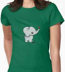 Elephant Women's Fitted T-Shirt