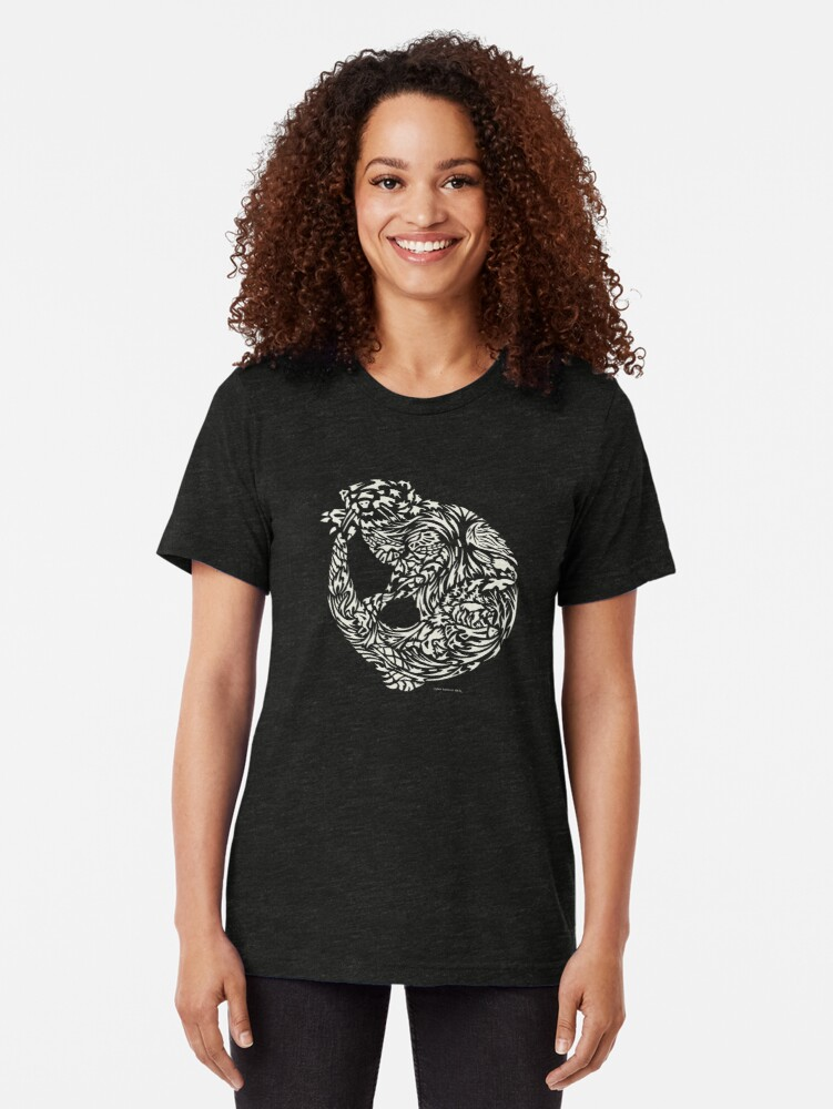 Alternate view of Otter Tri-blend T-Shirt