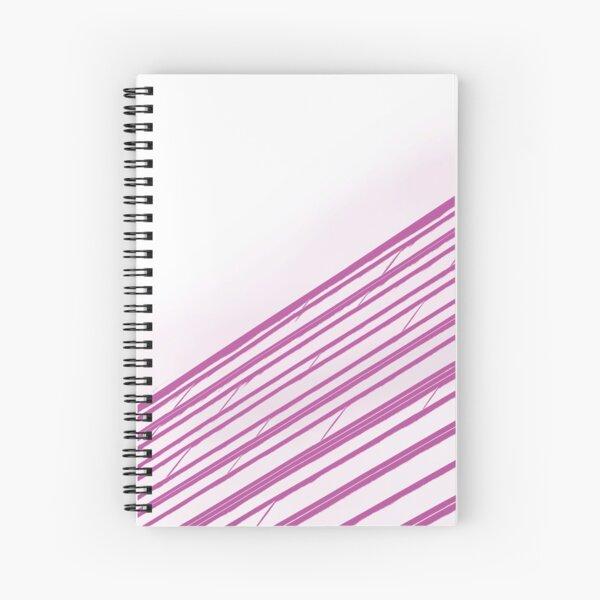 Pink Tiles Spiral Notebook
