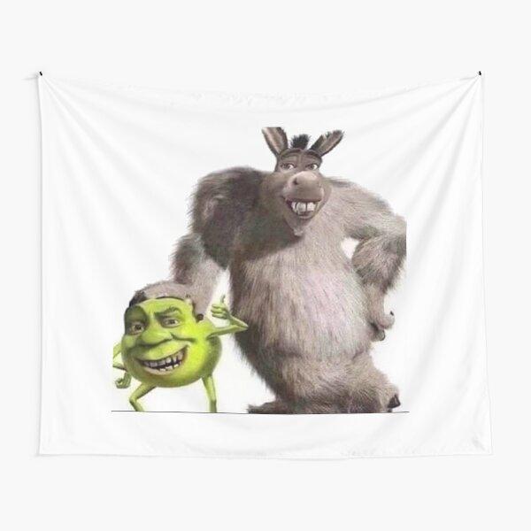 Shrek and Donkey X Monsters Inc. Tapestry