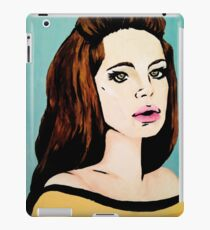 Video Games Girl - Original Painting (Scanned) iPad Case/Skin
