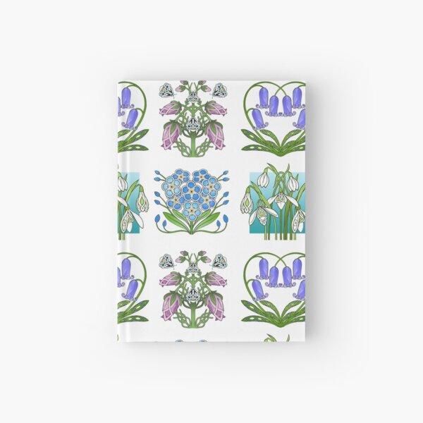 4 Highland Flowers Hardcover Journal