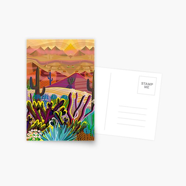 HIgh on a Mountain Top Postcard