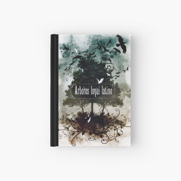 Arbores loqui latine Hardcover Journal