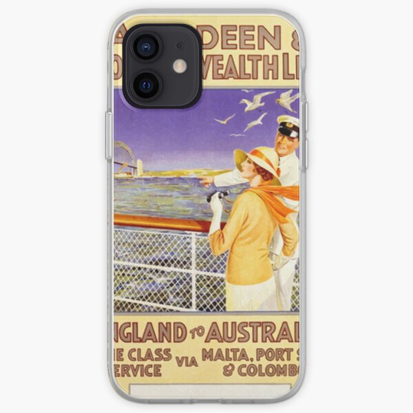 Aberdeen and commonwealth line iPhone Soft Case