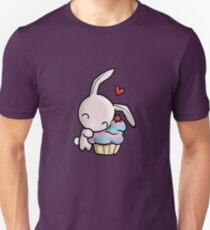 Cupcake Bunny Unisex T-Shirt