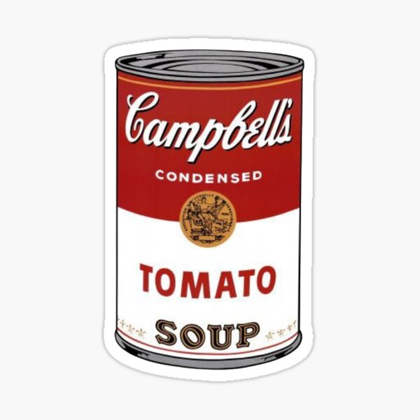 Campbell's Soup Can Sticker