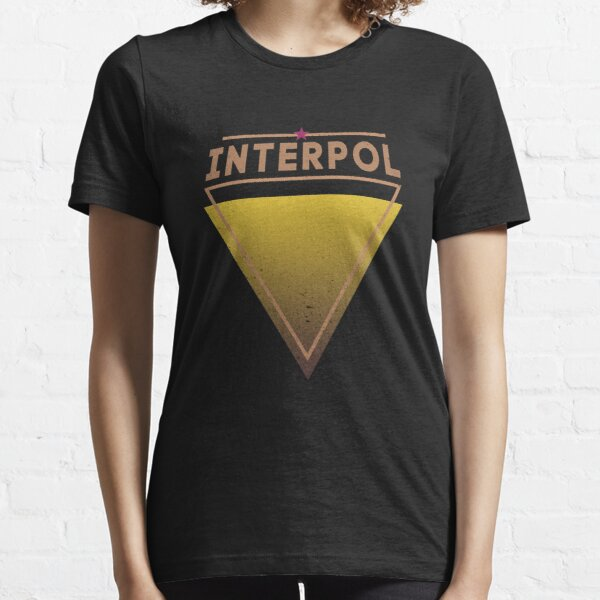 """Interpol"" like in Jessica Jones TV Show Essential T-Shirt"