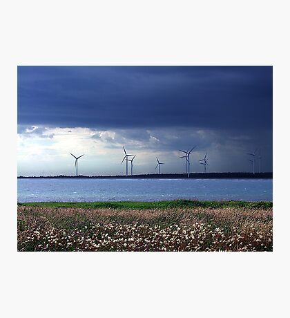 Power From The Wind Photographic Print