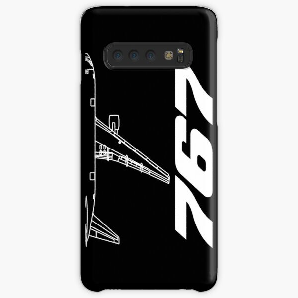 Boeing 767 Silhouette Top View Samsung Galaxy Snap Case