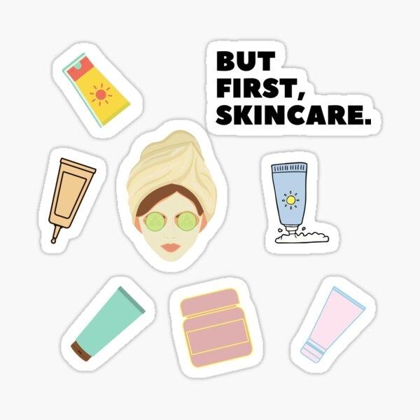 Skincare Stickers Redbubble