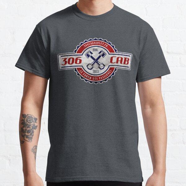 Vintage Garage - 306 Cab (logo Bleu & Rouge) T-shirt classique