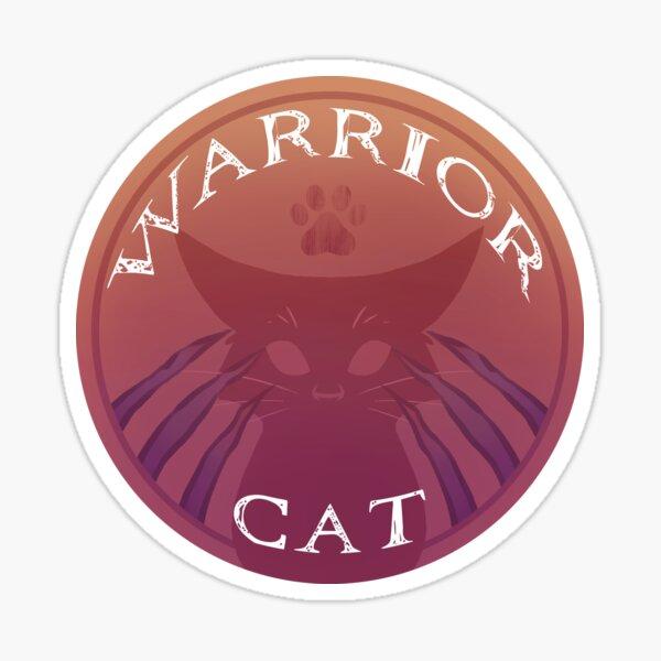 Official Warrior Cat Sticker